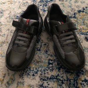 Prada little girl sneakers